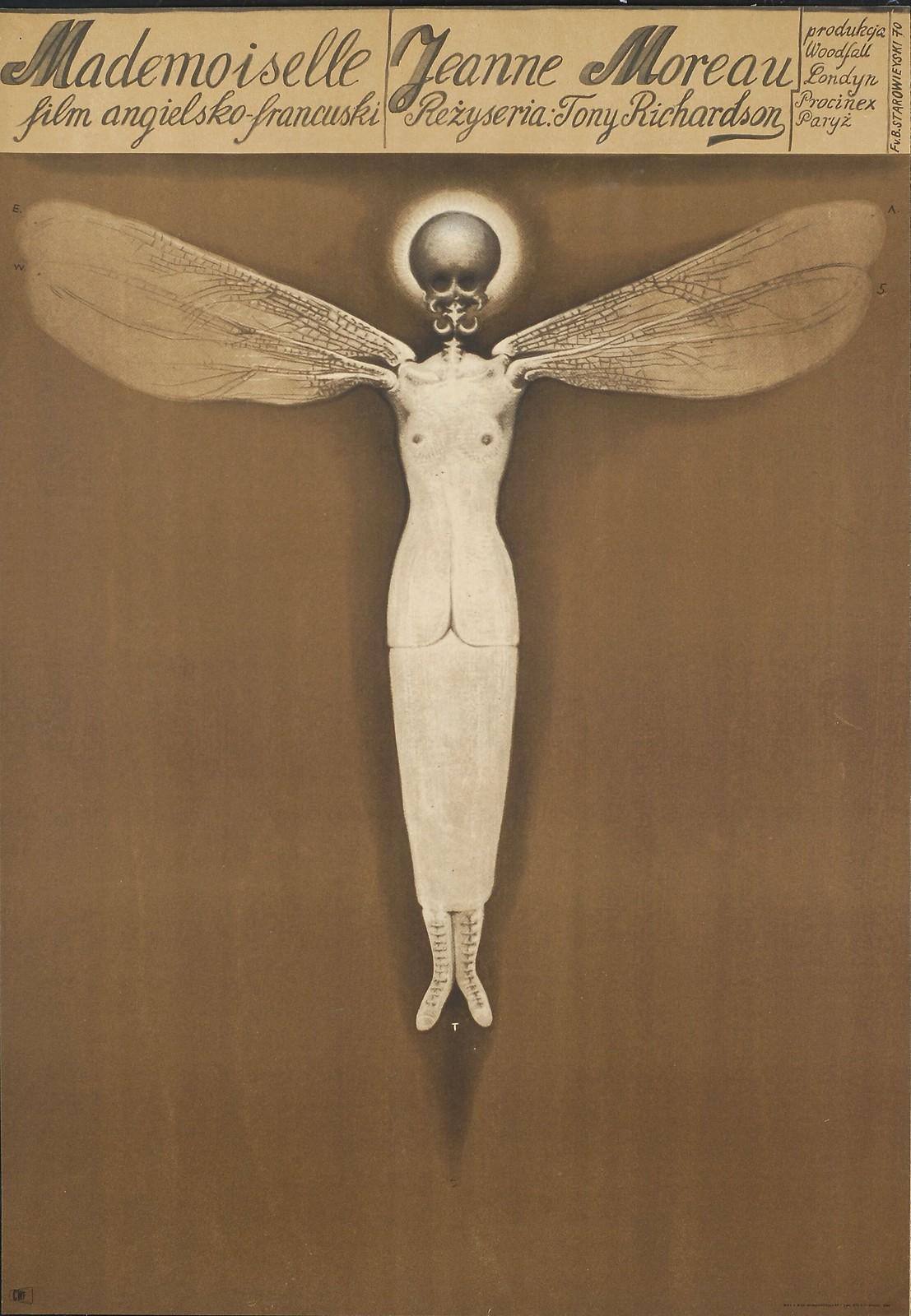 Franciszek Starowieyski - Mademoiselle 1970