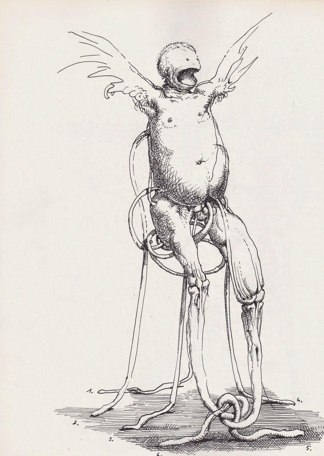 Franciszek Starowieyski - Drawing 1