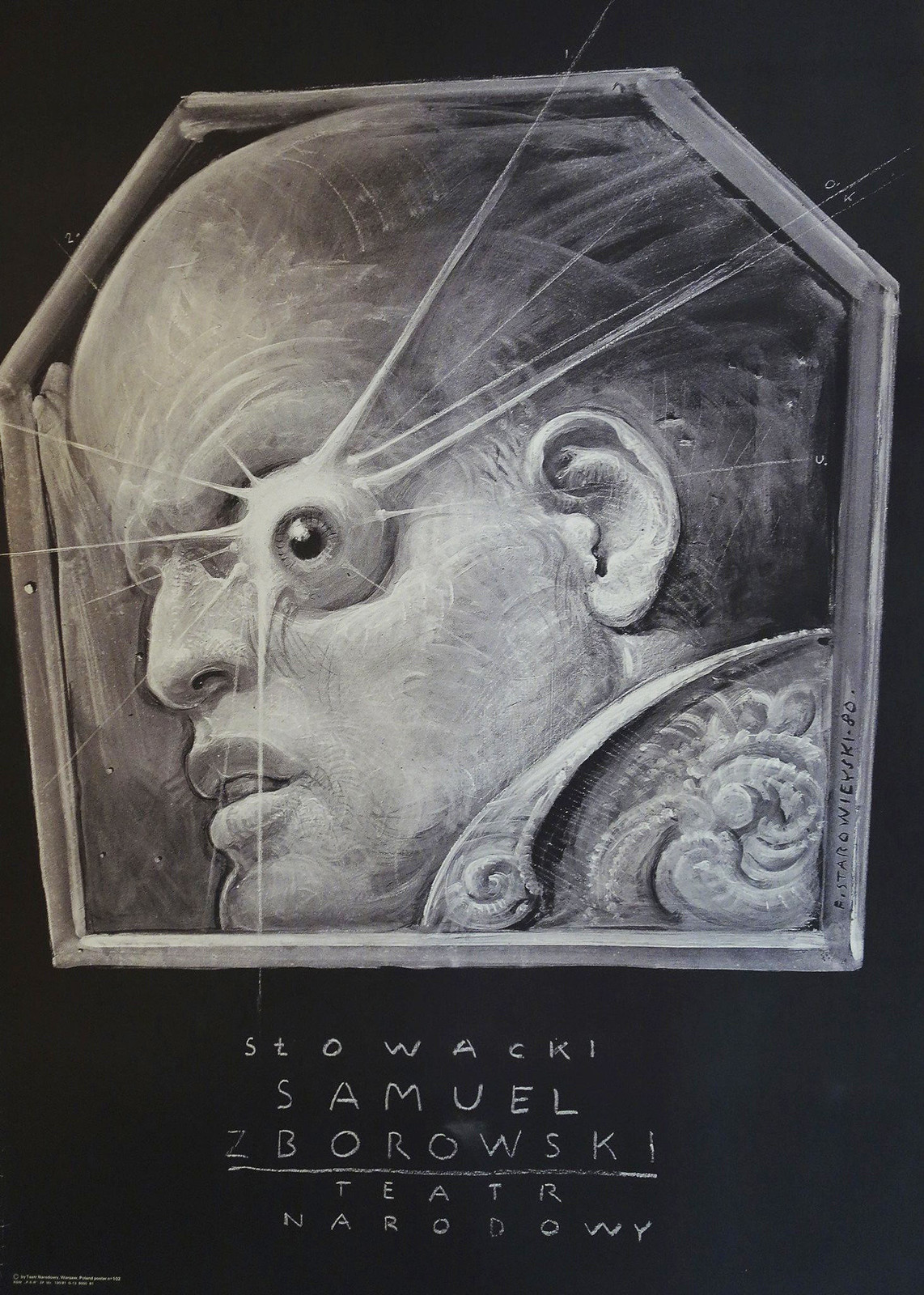 Franciszek Starowieyski - Slowacki Samuel Zborowski, 1980