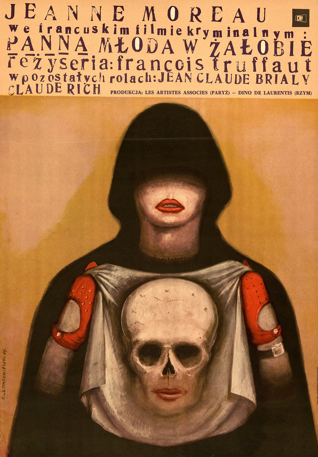Franciszek Starowieyski - Panna Mloda w Zalobie, 1969