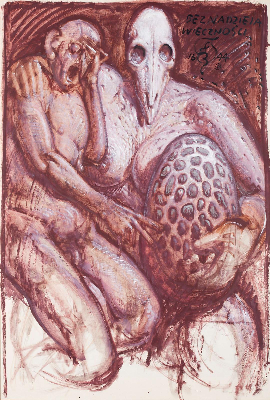 Franciszek Starowieyski - Hope of Eternity, 1994