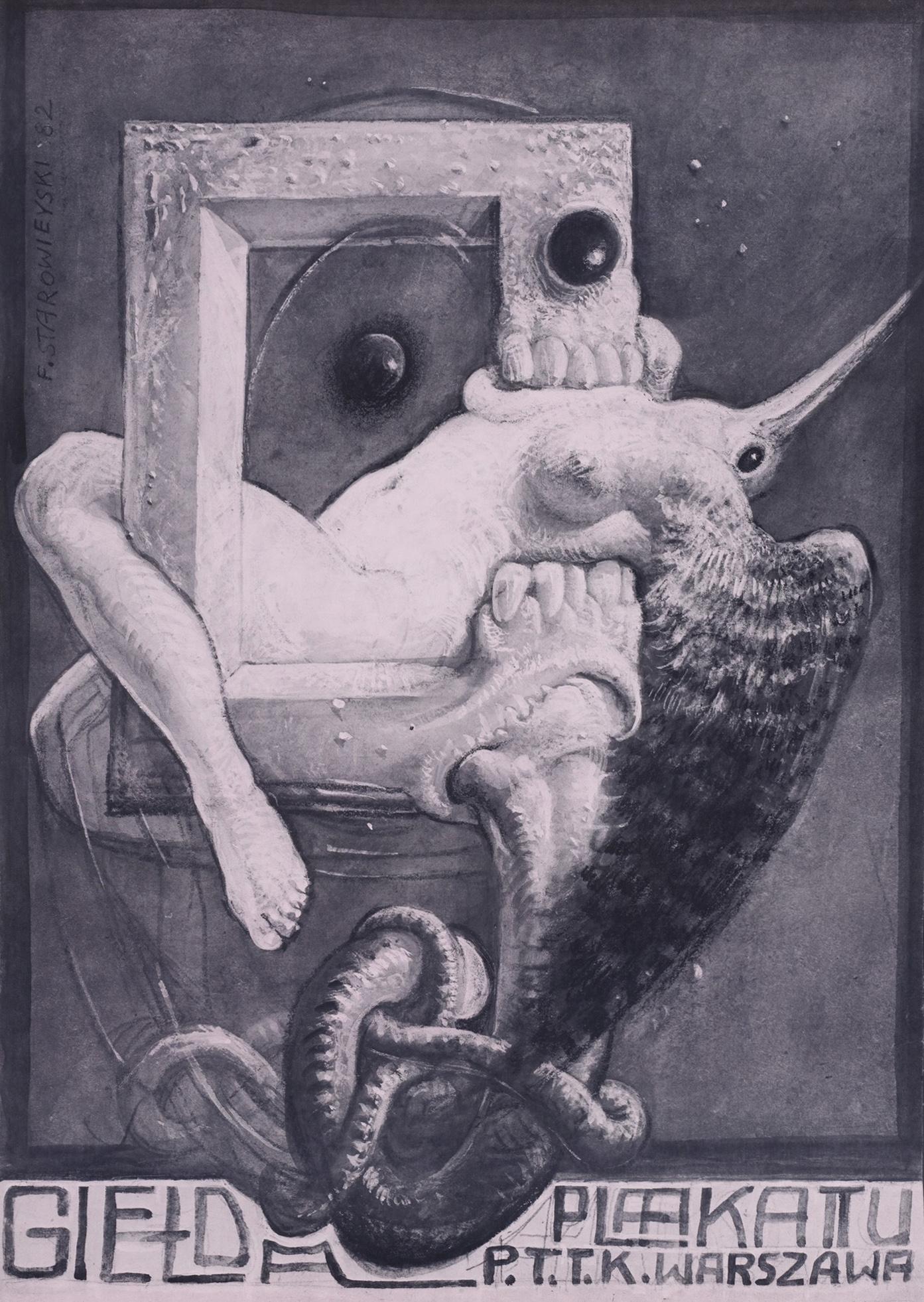 Franciszek Starowieyski - Gielda Plaakattu, 1982
