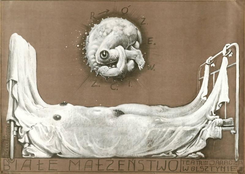 Franciszek Starowieyski - Biale Malzenstwo, 1978