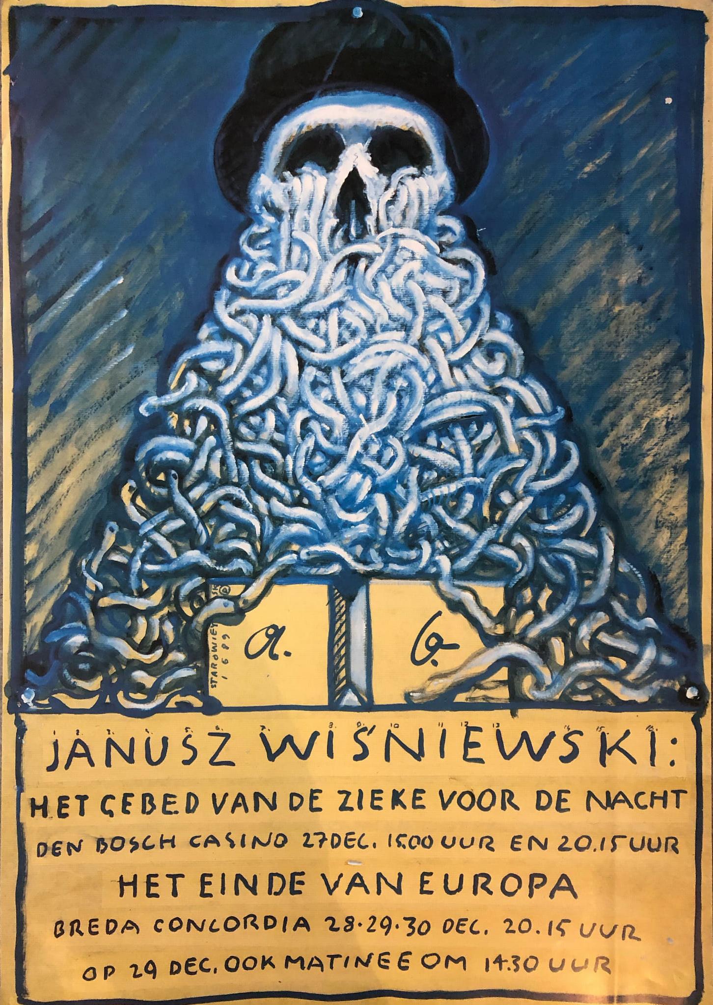 """Franciszek Starowieyski - """"The Netherlands, 1989"""