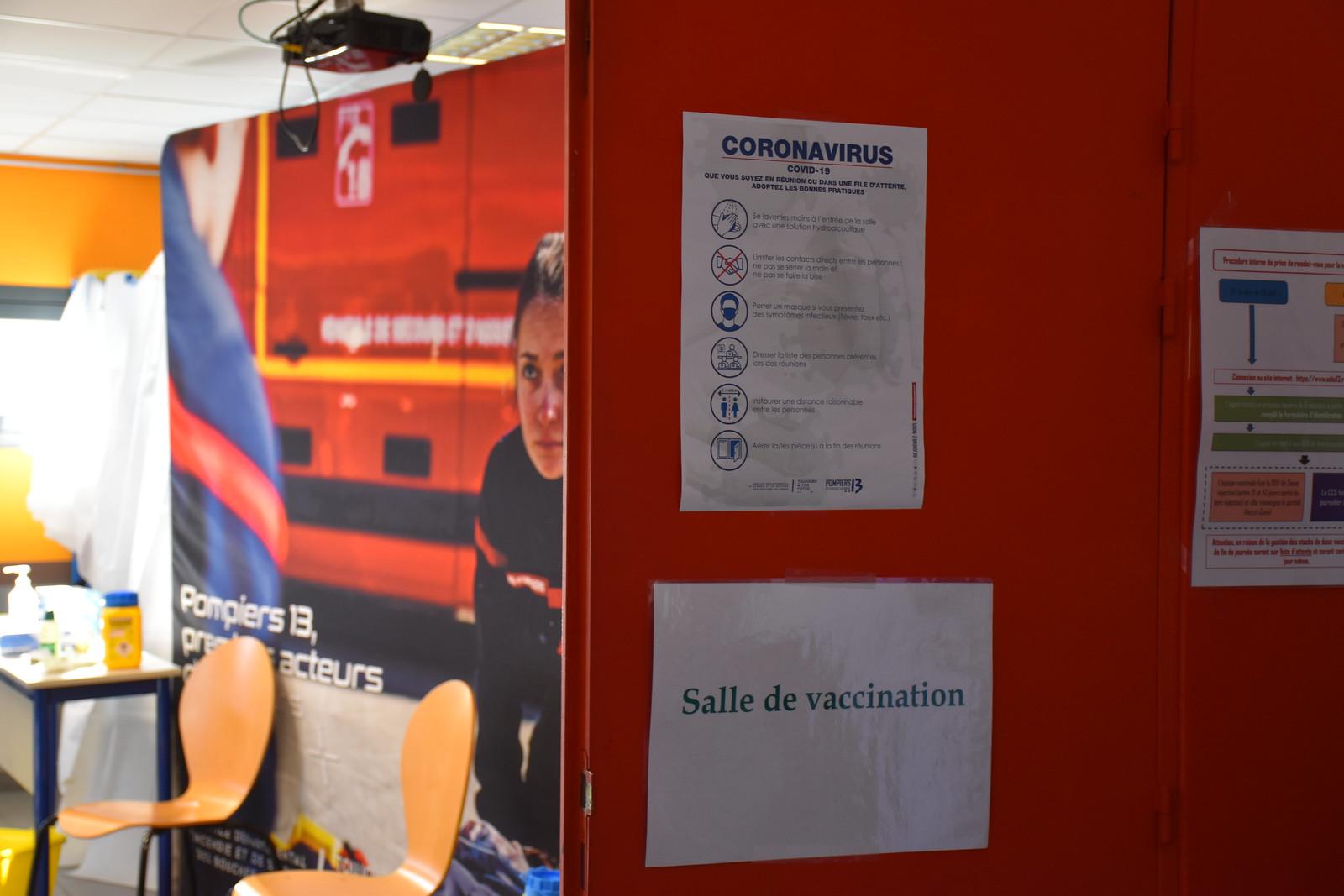 Démarrage de la campagne de vaccination chez les Pompiers13