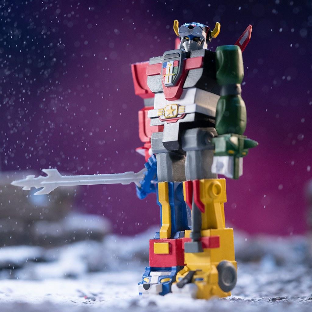 我來組成頭部!Super7 ReAction Figure 系列《聖戰士》Voltron 3.75 吋吊卡玩具