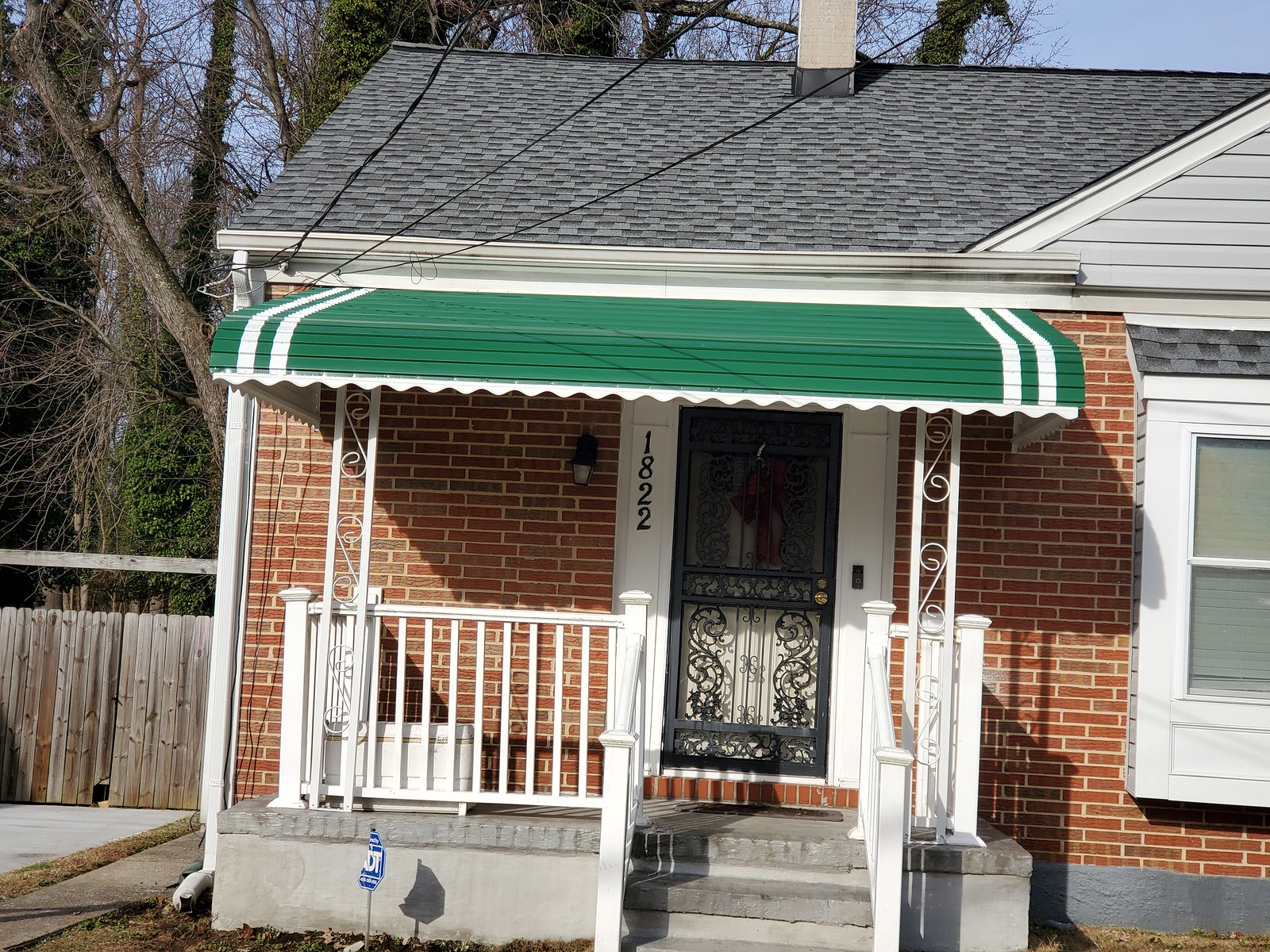 Green-Porch Aluminum Awning Baltimore