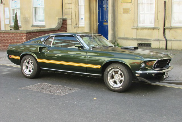 Ford Mustang Mach 1 HGO935T