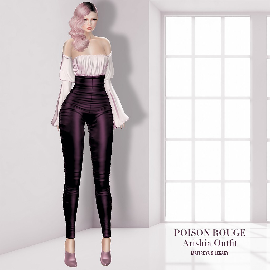 POISON ROUGE Arishia Outfit @TRES CHIC