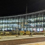 New UCLan university buildings in Preston