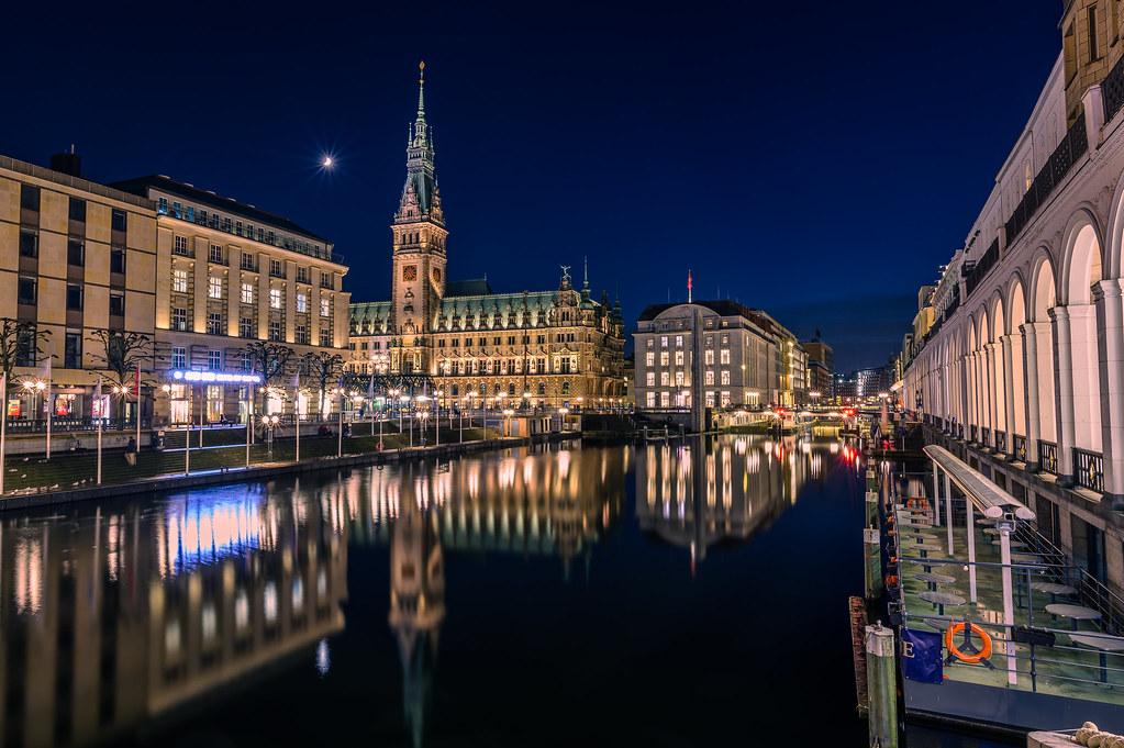 City Hall of Hamburg (Hamburger Rathaus)