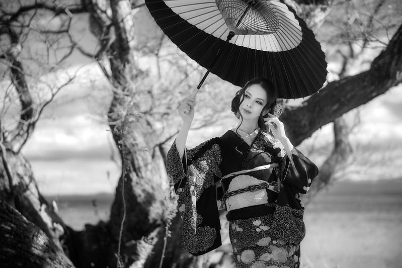 Portraits in Kimono