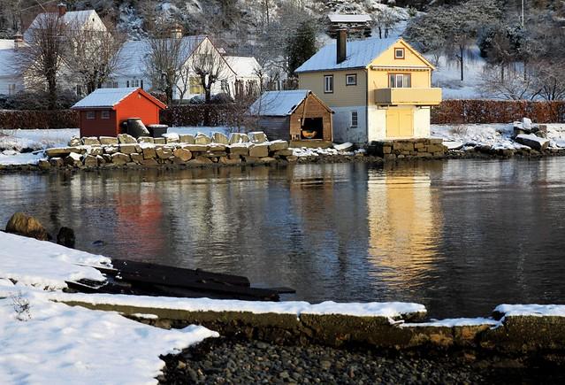 Vinter i Strandvik
