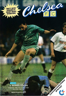 Football Programme Chelsea v Wimbledon 28th November 1987 | by Trevor Durritt