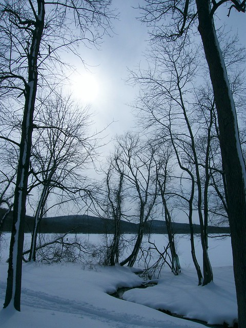 Winter at Rockland Lake