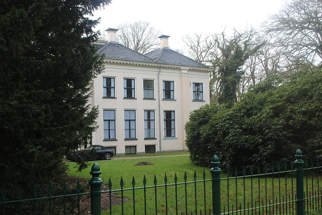 Oranjestein, a stately home