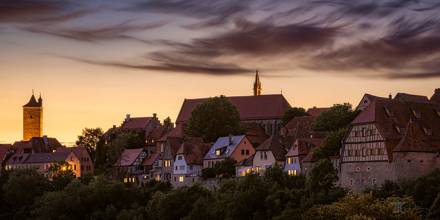 "The Rothenburg Series | ""Rothenburg Nightfall"""