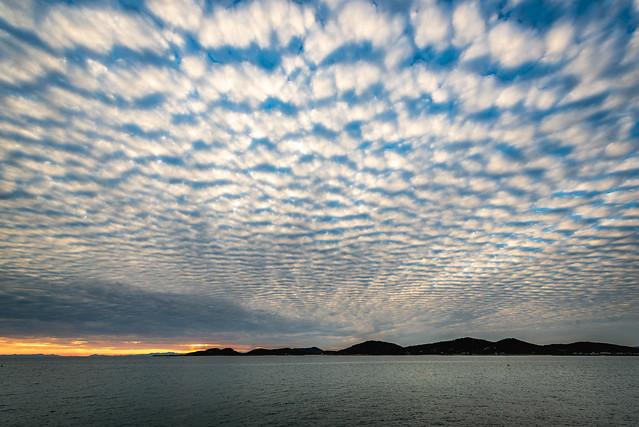 うろこ雲ーMackerel sky