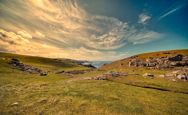 Strathy Point, Scotland.