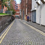 Cobbled street in Preston