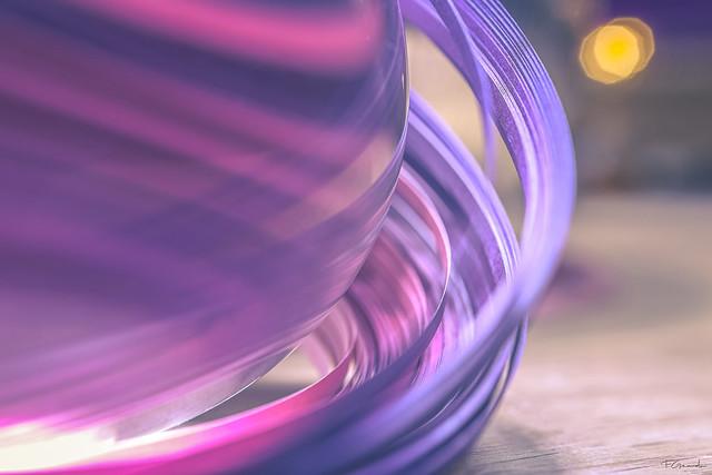 ribbon meets lensball