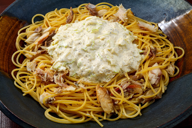 pasta-with-baked-mackerel-and-celery-and-lemon-mayonnaise-sauce_180121