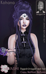 [^.^Ayashi^.^] Kohana hair special for Black Fair