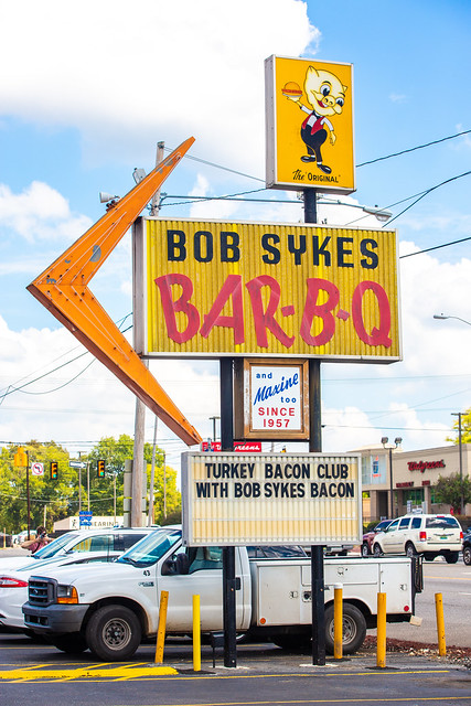 Bob Sykes Bar-B-Q, Bessemer, Alabama