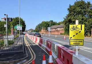 One of the last covid cycleways in Preston | by Tony Worrall