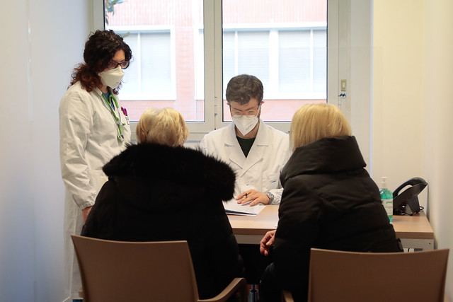 Inizio vaccinazioni pazienti over 80 Policlinico UCBM
