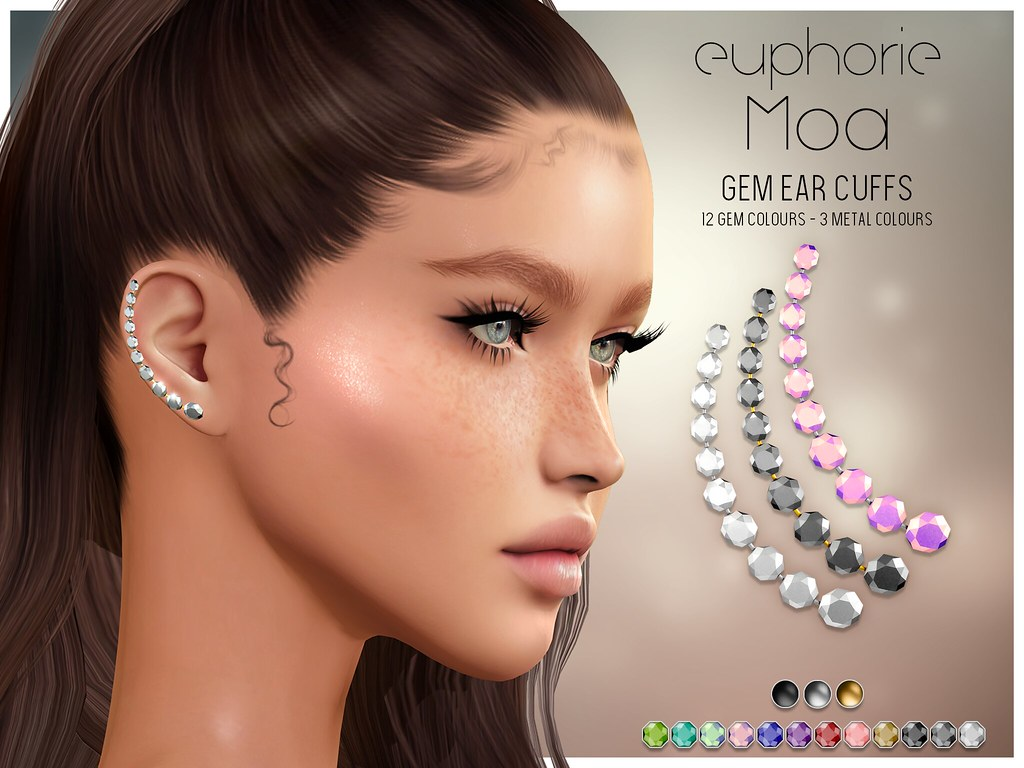 Euphorie – Moa Ear cuffs