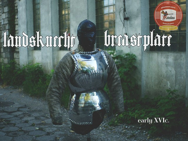 Landsknecht breastplate
