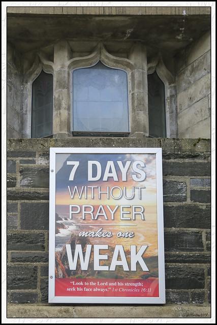 7-Letterkenny, Ireland - Insightful sign on Church