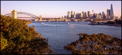 sunset sydney harbour sydneyharbour waverton ballsheadreserve cityskyline sydneyskyline sydneyharbourbridge city