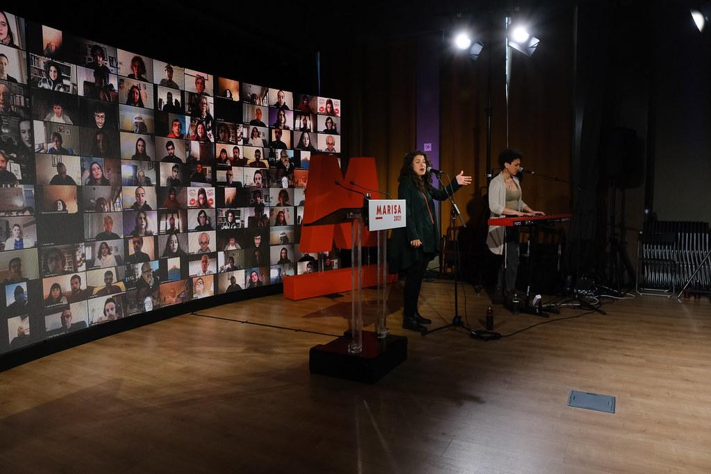 Comício virtual Marisa Matias, Porto, Jan 2021