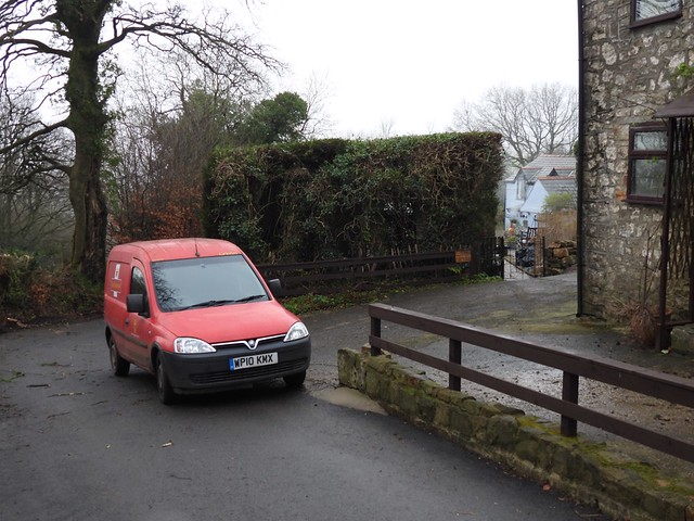 Postal Delivery, Glyn Bran Cottage, Mountain Road, Upper Cwmbran 18 January 2021