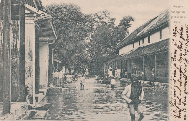 Surakarta - Flood, 1905