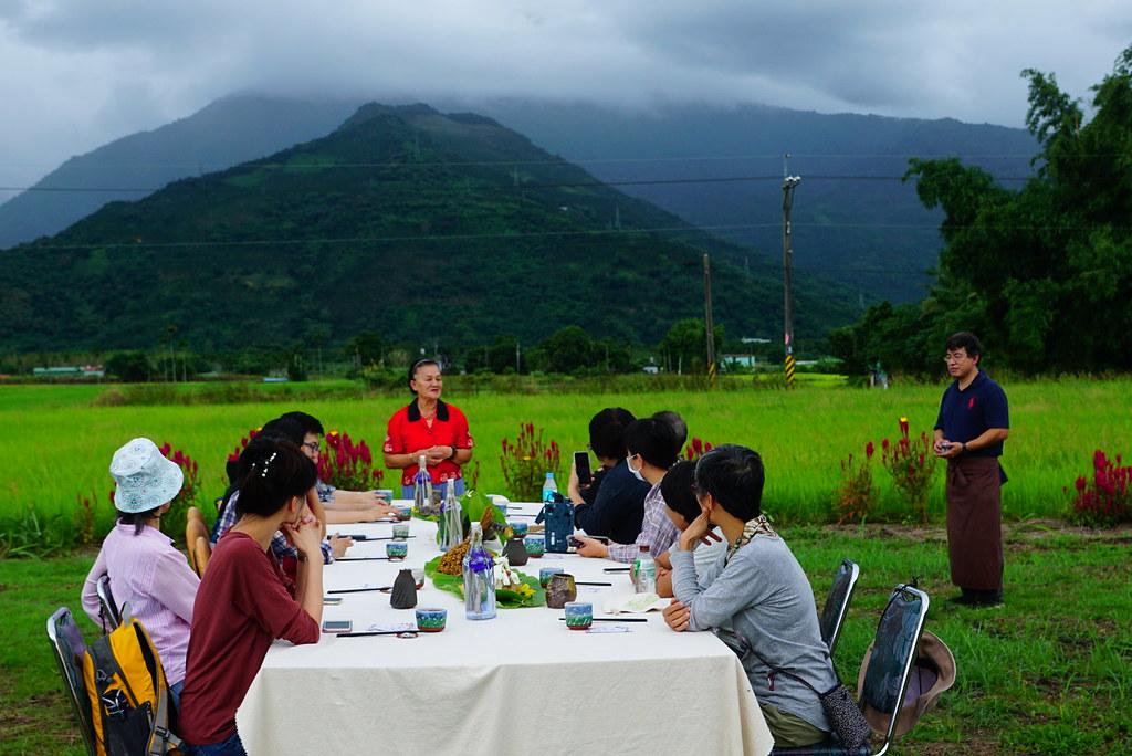 森林療癒餐運用地方食材、健康調理方式,讓參與者在森林或氛圍良好處用餐。林試所李俊緯攝