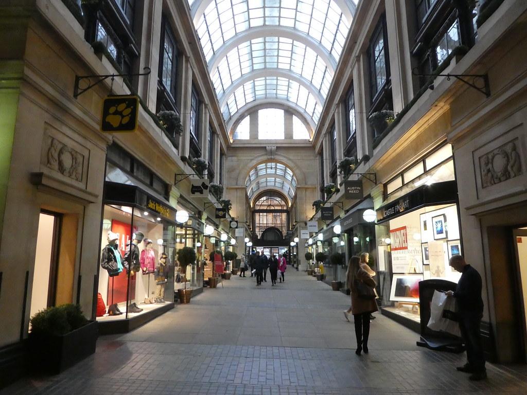 Designer shopping, Exchange Building Nottingham