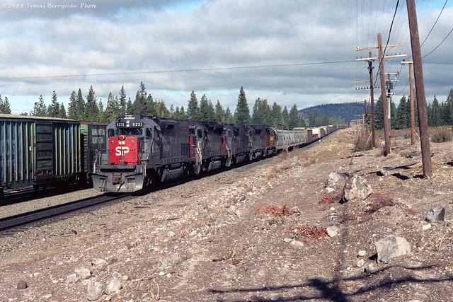 SP 8231 west at Black Butte, Ca