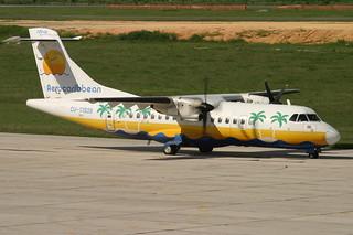 CU-T1509. ATR-42. Aerocaribbean. SDQ.