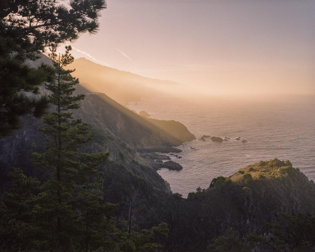 Big Sur, mamiya 7ii, 65mm, Portra