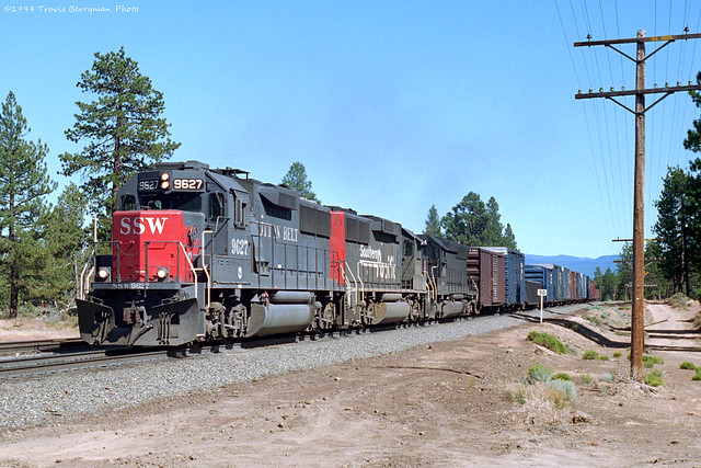 SSW 9627 west at Penoyar, Ca.