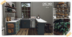 CHEZ MOI Quinn Kitchen Set  - Exclusive to Tres Chic