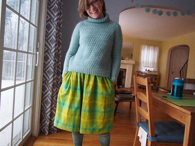 I made a Cleo Skirt!
