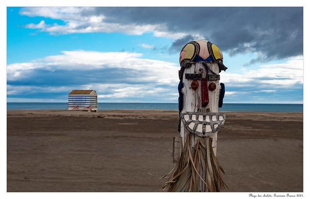 Beach art...
