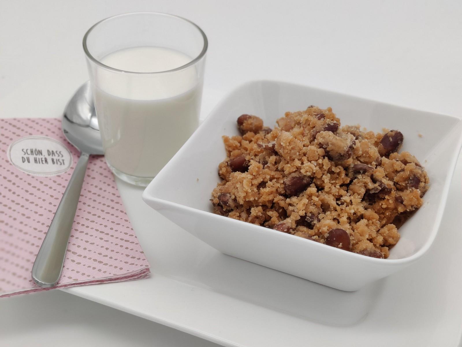 Meine Lieblingskombination ❤ - Bohnensterz und Milch