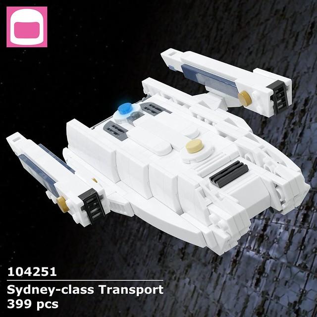 Sydney-class Transport Box Art