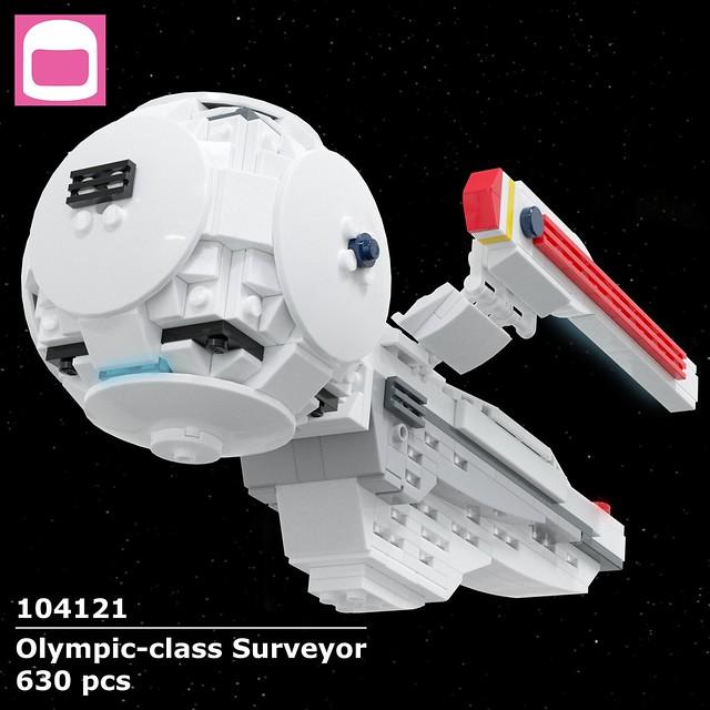 Olympic-class Surveyor Box Art