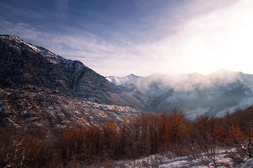 outside nature utah provo squaw peak mountain cloud snow winter landscape tree canon rebel t5i
